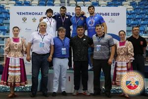 Бронза чемпионата России по вольной борьбе