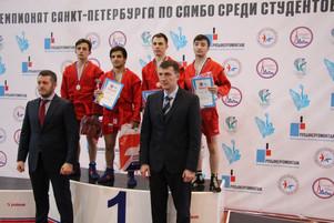 Чемпионат Санкт-Петербурга среди студентов по самбо
