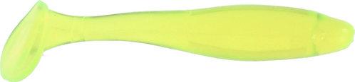 "3"" Fat Shad - Chartreuse Transparent"