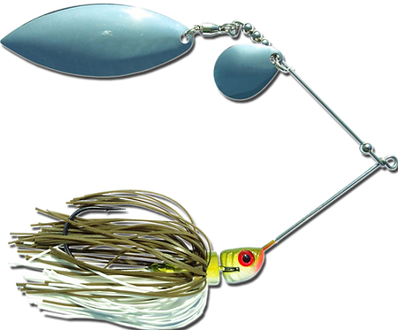 Big Bass Spinnerbait - Baby Bass Ni/Ni