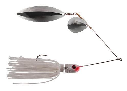 Apex Spinnerbait - White