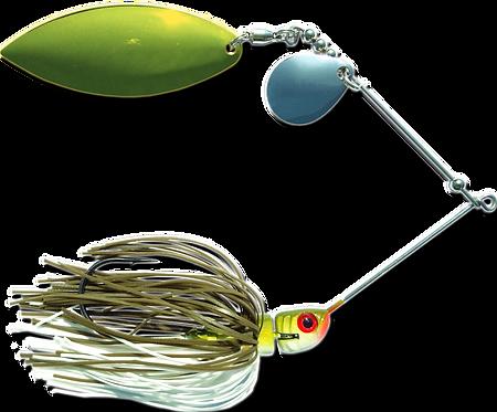 Big Bass Spinnerbait - Baby Bass Br/Ni