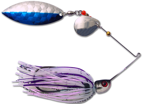 StrikeBack Spinnerbait - Lavender Shad