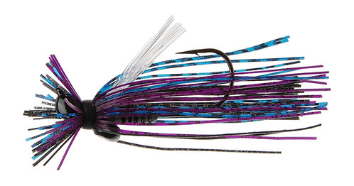 Evo II Finesse Jig - Black Purple Blue