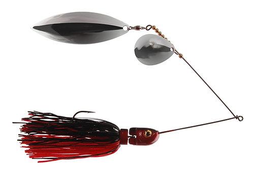 Apex Spinnerbait - Black & Red