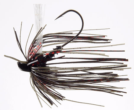 Evo Finesse Jig - Green Pumpkin Red Flake