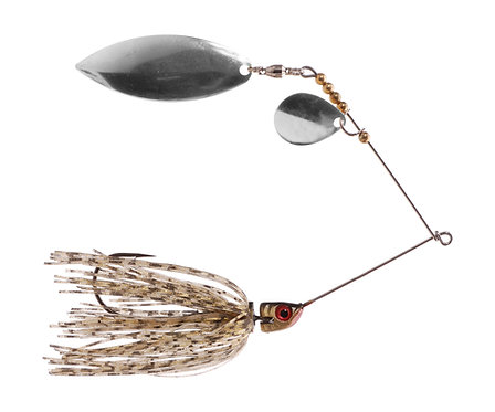 Big Bass Spinnerbait - Golden Shiner Ni/Ni