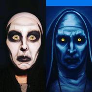 Conjuring nun