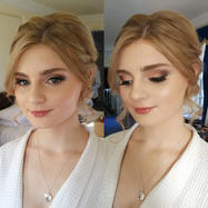Makeup and hair styling