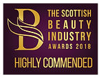 Highly Commended Scottish Beauty Industr