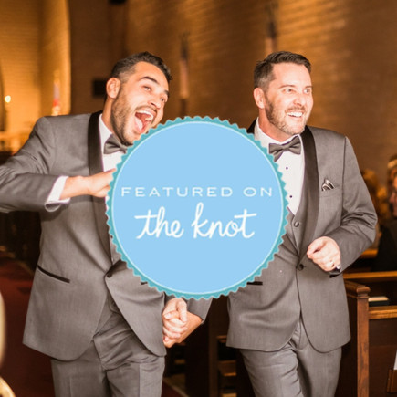 the knot same sex wedding southern calif