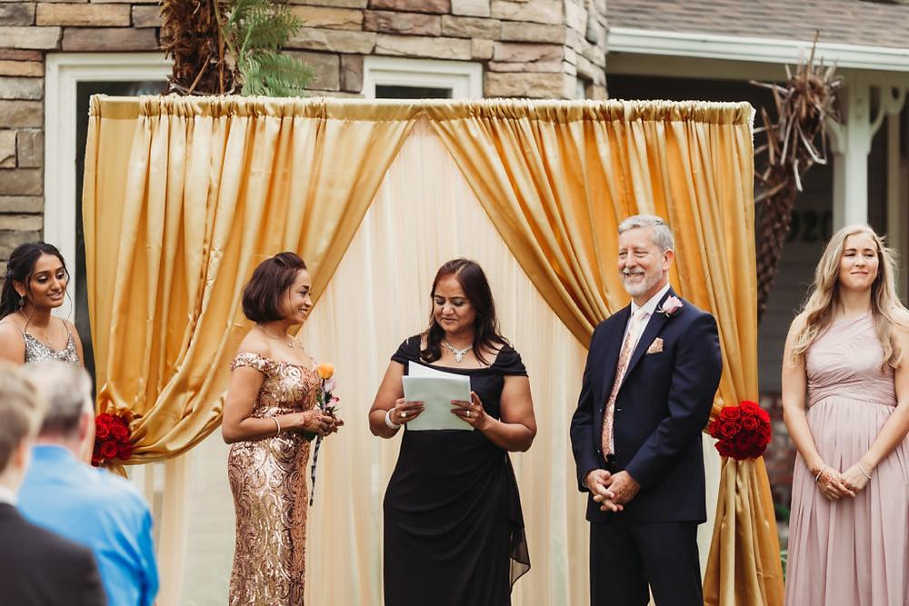 Backyard Wedding in Fullerton