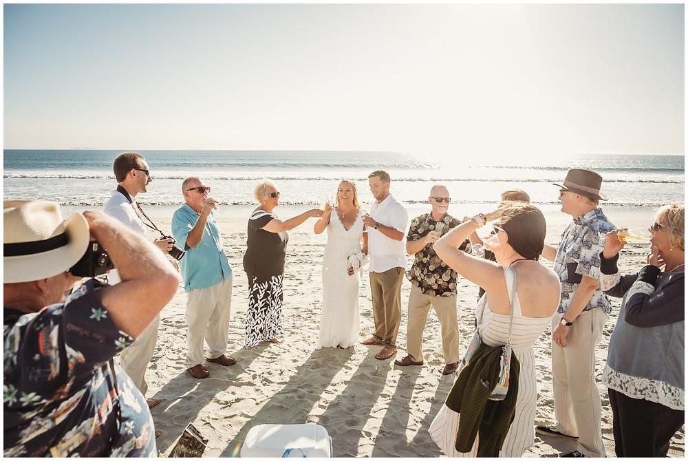 Wedding in Coronado Island, San Diego