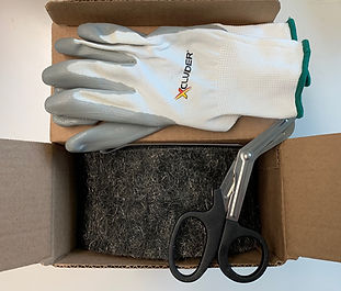 XCLuder - Large Kit - 5' Roll / Shears / Gloves