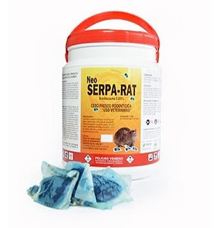 Neo Serpa Rat - Soft Bait - 1Kg