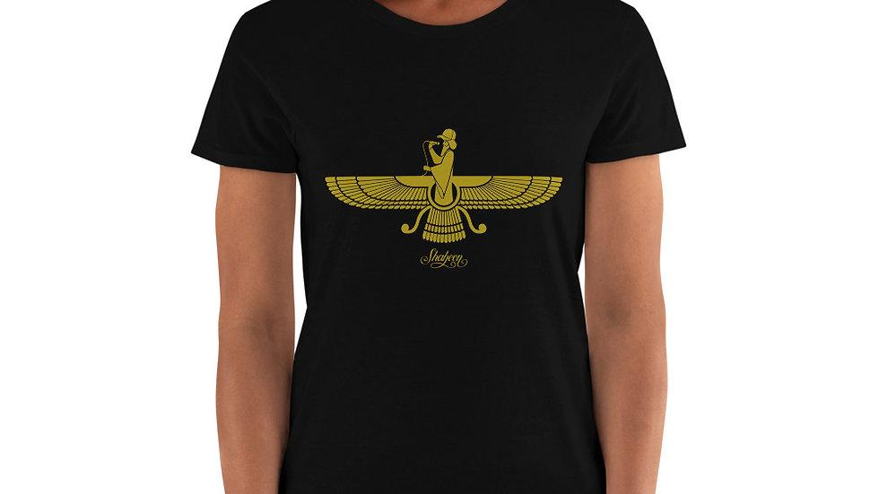 Women Rapping Faravahar T-Shirt