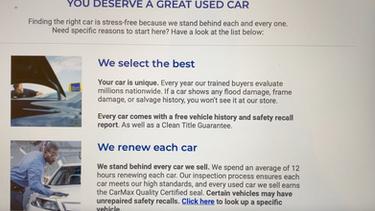 CarMax Fails #5