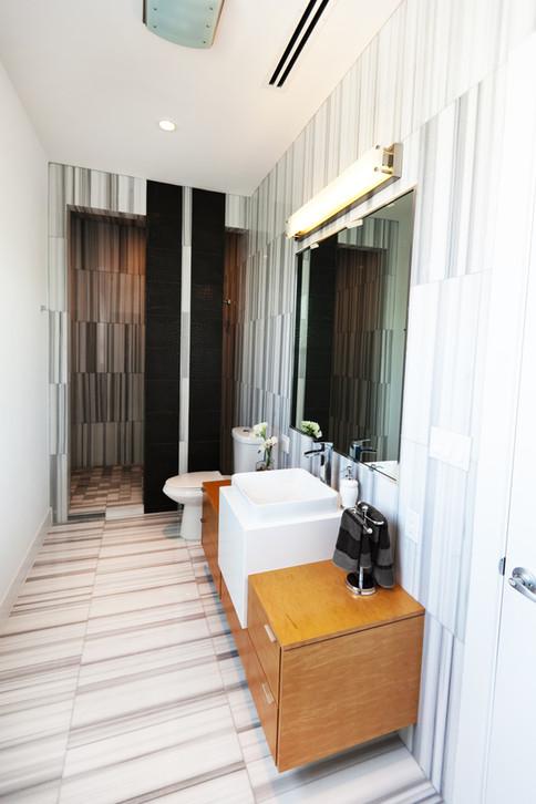 no ordinary guest bath