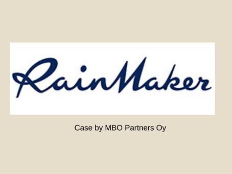 Rainmaker myi liiketoimintaa