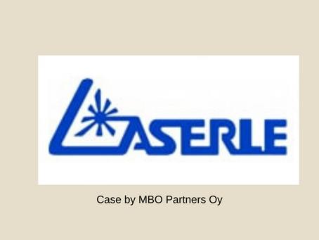 Laserle Oy MBO kauppa ja rahoitus