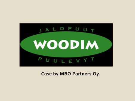 Oy Woodim Finland Ltd osakekauppa ja rahoitusjärjestely