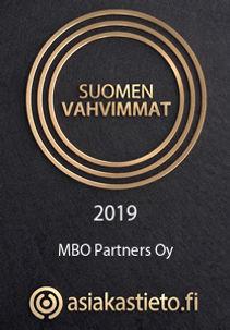 MBO Partners on Suomen Vahvimmat 2019