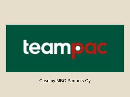 Teampac yrittäjäpolvenvaihdos