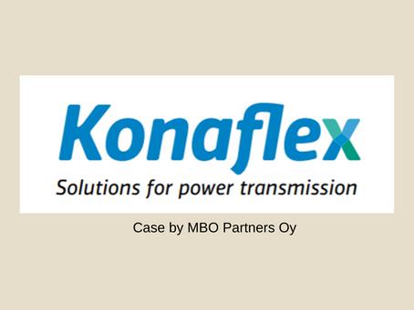 Konaflex osakekannan kauppa