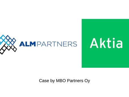 ALM Partners Oy:n MBO Kauppa ja rahoitus