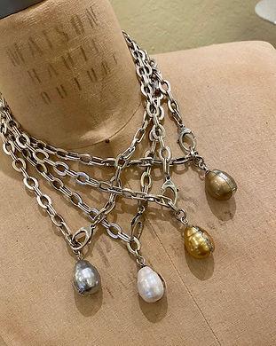 N5402 All White, grey, golden, tan pearl