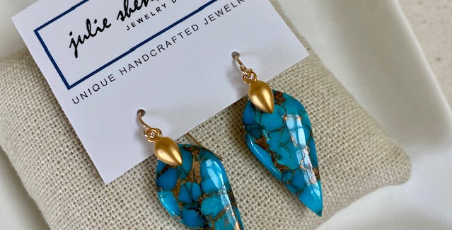 Blue Turquoise Copper