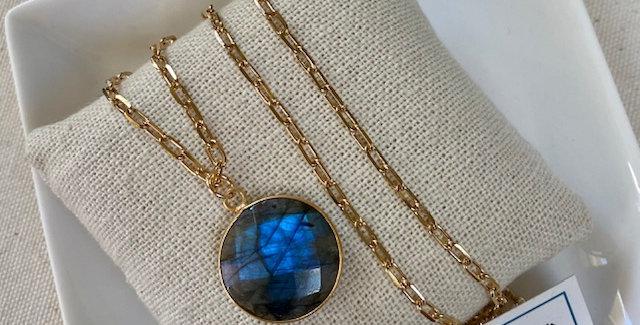 Blue Labradorite Round