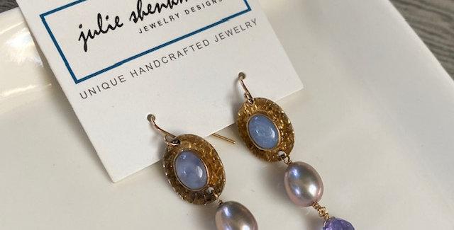 Tanzanite Pearls