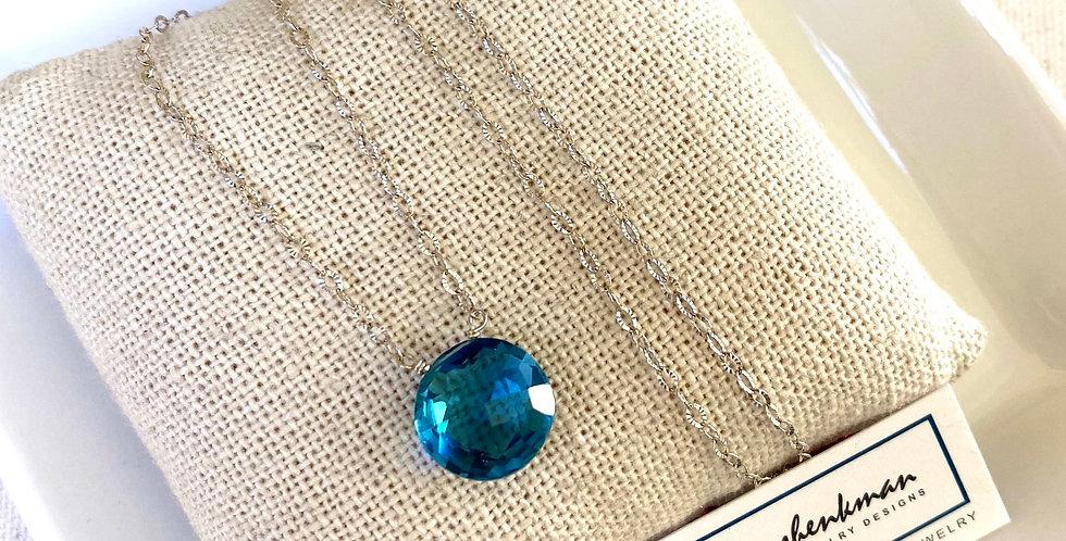 Swiss Blue Round