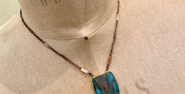 Chrysocolla Copper