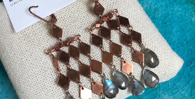Labradorite diamonds