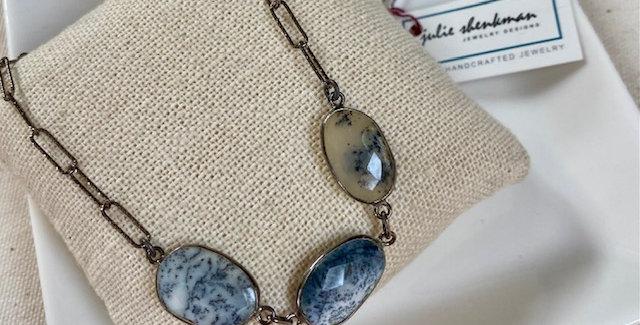 Black Dendrite Opal