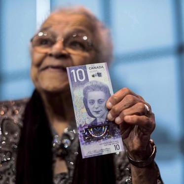 Canada's  Viola Desmond $10 bill note wins international banknote competition