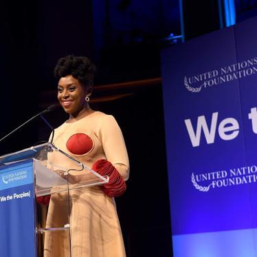 Author Chimamanda Ngozi Adichie Honoured With UN Global Leadership Award