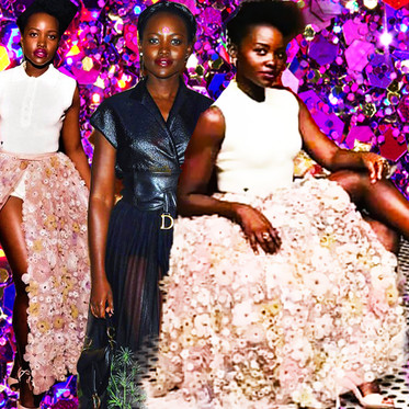STYLEKAFE FLIX: Lupita Nyong'o Stunning Looks For The Christian Dior Show In Morocco