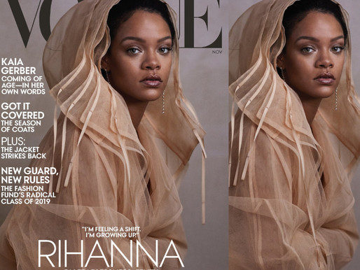 RIHANNA IN VOGUE US NOVEMBER 2019 BY ETHAN JAMES GREEN