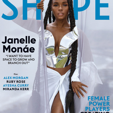 JANELLE MONAE IN SHAPE USA SEPTEMBER 2020 BY DANNA SCRUGGS