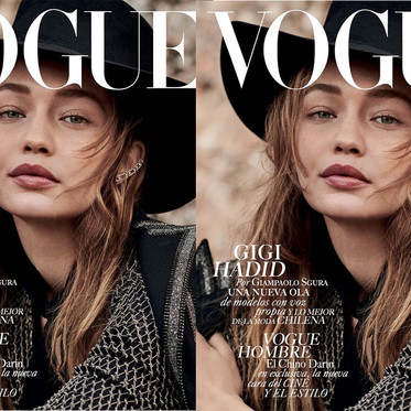 GIGI HADID FOR VOGUE MEXICO BY GIAMPAOLO SGURA