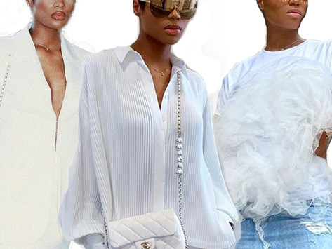 STYLE MUSE OF THE WEEK:  ALL WHITE LOOKS FROM SUPER STYLISH DIDI STONE
