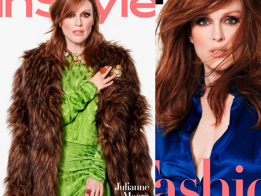 Julianne Moore For InStyle USA By Phil Poynter