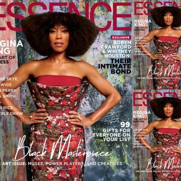 Regina King For Essence Magazine By JD Barnes - December 2019 Edition