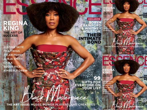 Regina King For Essence Magazine By JD Barnes - December 2019 Edition