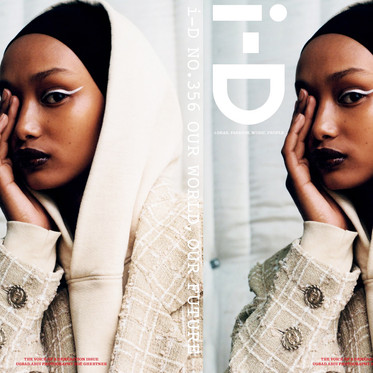 UGBAD ABDI IN I-D MAGAZINE SUMMER 2019 BY ZOE GHERTNER