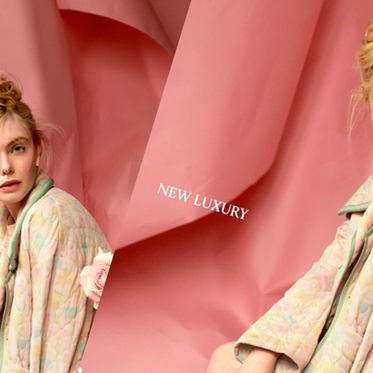 Elle Fanning For Icon Magazine's July 2020 By Andreas Ortner