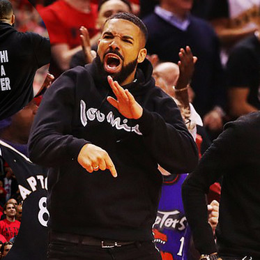 The Many Faces Of Drake As He Cheers On The Raptors; On Way To The Franchise's First-Ever NBA Finals